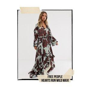 Free People Hearts Run Wild Maxi Dress